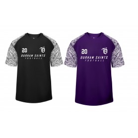 Durham Saints - Printed Blend Performance Tee