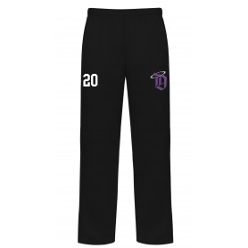 Durham Saints - Embroidered Badger Open Bottom Joggers