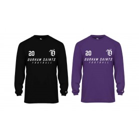 Durham Saints - Printed Badger B-Core Longsleeve Tee