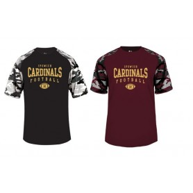 Ipswich Cardinals - Camo Performance Tee