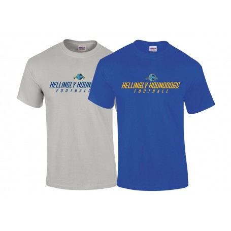 Hellingly Hound Dogs - Text Logo T-Shirt