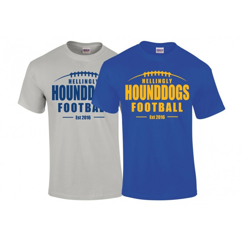 Hellingly Hound Dogs - Laces Logo T Shirt