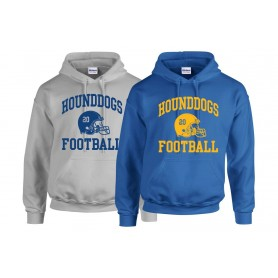 Hellingly Hound Dogs - Custom Side Logo Hoodie