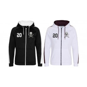 Knottingley Raiders - Embroidered Sports Performance Zip Hoodie