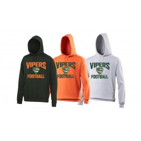 Sheffield Vipers - Football Logo Hoodie
