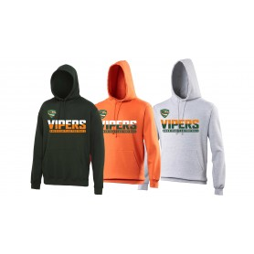 Sheffield Vipers - Athletic Split Text Logo Hoodie