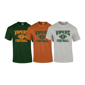Sheffield Vipers - Custom Ball Logo 1 T-Shirt