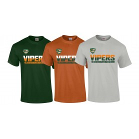 Sheffield Vipers - Athletic Split Text Logo T-Shirt