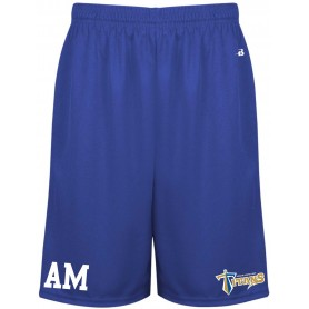 Manchester Titans - Coaches Embroidered Money Mesh Pocket Shorts