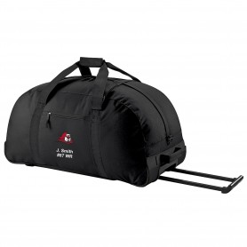 Edinburgh Napier Knights - Embroidered Wheelie Holdall