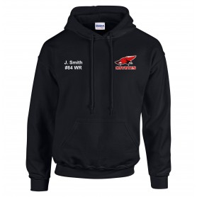 Denain Coyotes - Customised Embroidered Hoodie