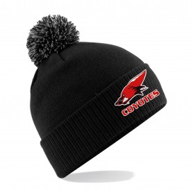 Denain Coyotes - Embroidered Bobble Hat