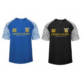 Limerick Vikings - Printed Blend Performance Tee