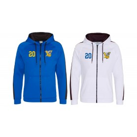 Limerick Vikings - Embroidered Sports Performance Zip Hoodie