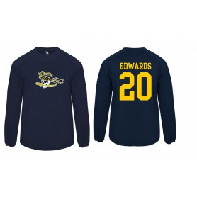 UEA PIrates - Customised or Non Customised Printed  Badger Poly Fleece Pullover