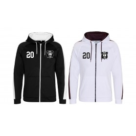 Langenthal Invaders - Embroidered Sports Performance Zip Hoodie