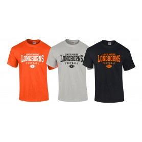 Lincolnshire Longhorns - Custom Ball Logo T-Shirt 1