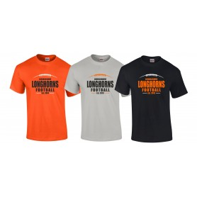 Lincolnshire Longhorns - Custom Ball Logo T-Shirt 2