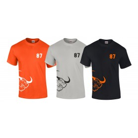 Lincolnshire Longhorns - Laces Logo T-Shirt
