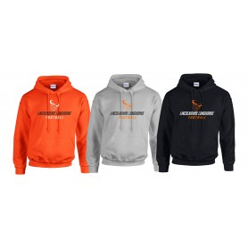 Lincolnshire Longhorns - Laces Logo Hoodie