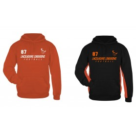 Lincolnshire Longhorns - Poly Fleece Performance Hoodie