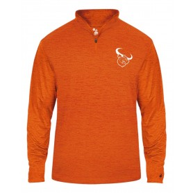 Lincolnshire Longhorns - Embroidered Tonal Blend Sport 1/4 Zip
