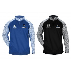 Sovona Pirates - Custom Embroidery Tonal Blend Sport 1/4 Zip