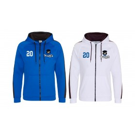 Sovona Pirates - Embroidered Sports Performance Zip Hoodie