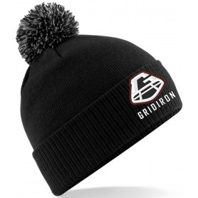 Gridiron - Embroidered Bobble Hat