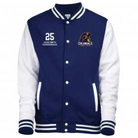 Lincoln Colonials - Custom Embroidered And Printed Varsity Jacket