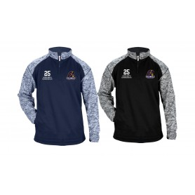 Lincoln Colonials - Custom Embroidery Tonal Blend Sport 1/4 Zip