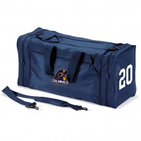 Lincoln Colonials - Custom Embroidered And Printed Kit Bag