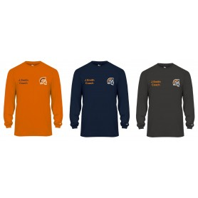 Sunderland Spartans - Coaches Embroidered B Core Long Sleeve T Shirt