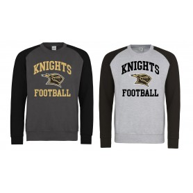 Rendsburg Knights - Printed Baseball Sweat Shirt