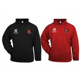 North East Giants - Customised Embroidered 1/4 Zip Poly Fleece Pullover