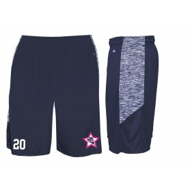 Trent Renegades - Custom Embroidered Blend Pocketed Shorts
