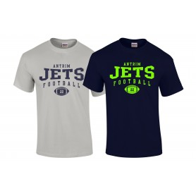 Antrim Jets - Custom Ball Logo 1 T Shirt