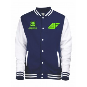 Antrim Jets - Customised Embroidered Varsity Jacket