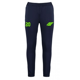 Antrim Jets - Customised Embroidered Zipped Pocketed Slim Fit Track Trousers