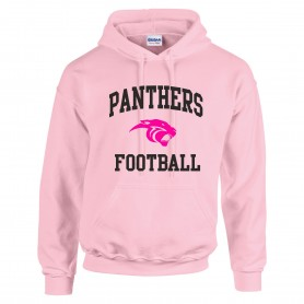 Oxford Brookes Panthers - Football Logo Hoodie