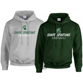 Shape Spartans - Text Logo Hoodie 1