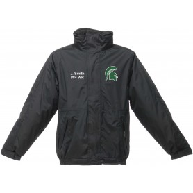 Shape Spartans - Custom Embroidered Heavyweight Dover Rain Jacket