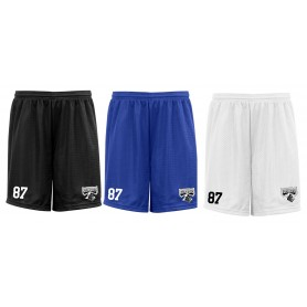 Crewe Railroaders - Embroidered Mesh Shorts