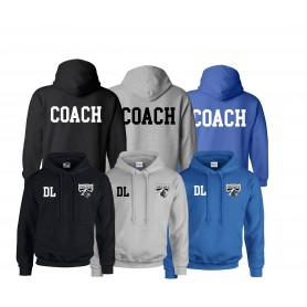 Crewe Railroaders - Coaches Print and Embroidered Hoodie