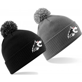 Warwick Wolves - Embroidered Bobble Hat