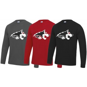 Warwick Wolves - Performance Long Sleeve T Shirt