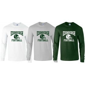 Edinburgh Predators - Custom Helmet Logo Long Sleeve T Shirt