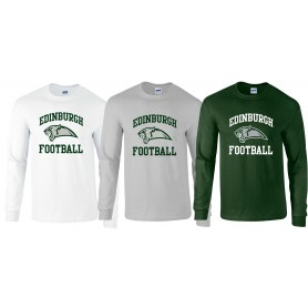 Edinburgh Predators - Edinburgh Football Logo Long Sleeve T Shirt
