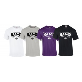 Yorkshire Academy Rams - Custom Ball 2 Logo T Shirt