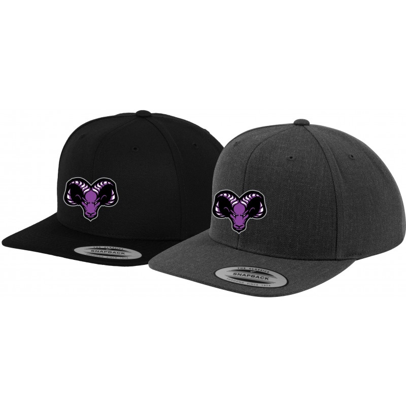 Yorkshire Academy Rams - Embroidered Snapback